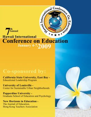 2009 Annual Conference front cover image