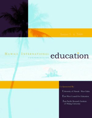 2004 Annual Conference front cover image