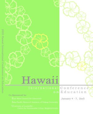 2005 Annual Conference front cover image