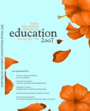 2007 Annual Conference front cover image