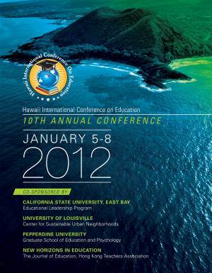 2012 Annual Conference front cover image