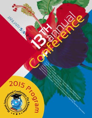 2015 Annual Conference front cover image