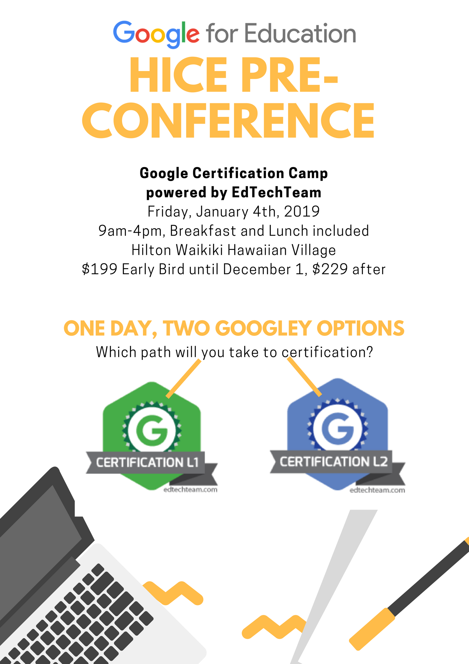 Google For Education Pre Conference Workshop